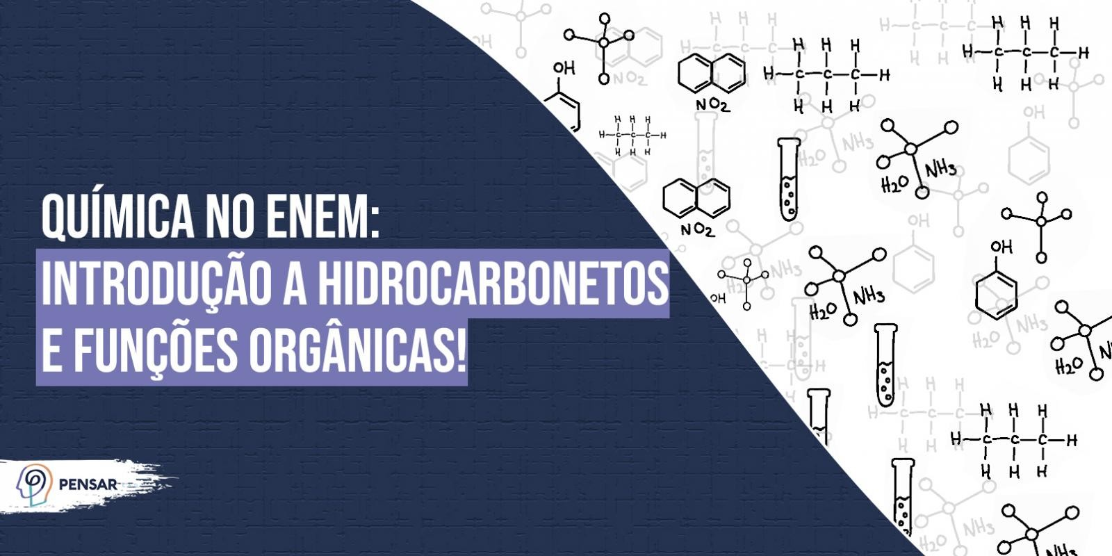 Química no ENEM: introdução a hidrocarbonetos e funções orgânicas!